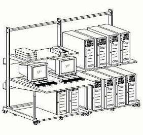 Concept Gallery For Computer Rack Storage Solutions