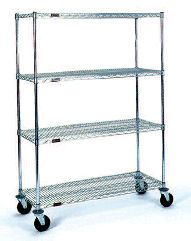 Mobile Wire Racks