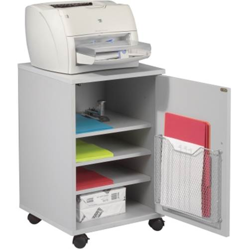 Single Stand with Cabinet Storage