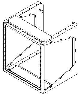Wall Mounted Swing Rack: Computer Racks, Server Racks And